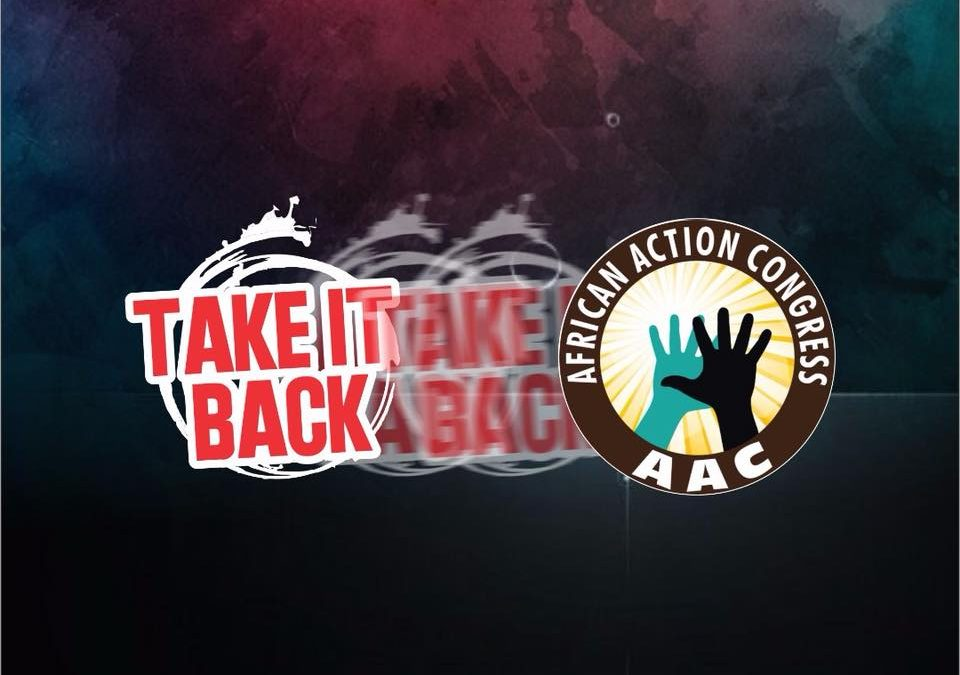 TakeItBack Movement's Political Party Platform is African Action Congress
