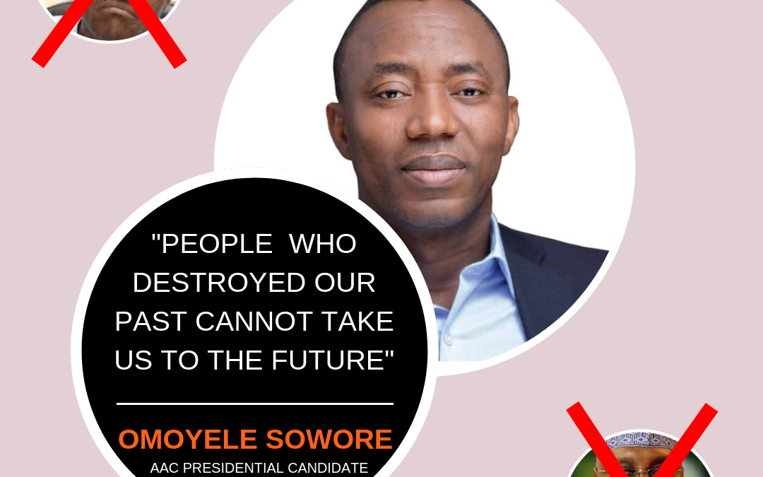 SOWORE'S AFRICAN ACTION CONGRESS DECLARES ITS MANIFESTO AS BEST FOR NIGERIAN CREATIVE SECTOR