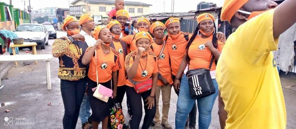PhotoNews: AAC Drives Home More Revolutionary Sensitisation In Lagos