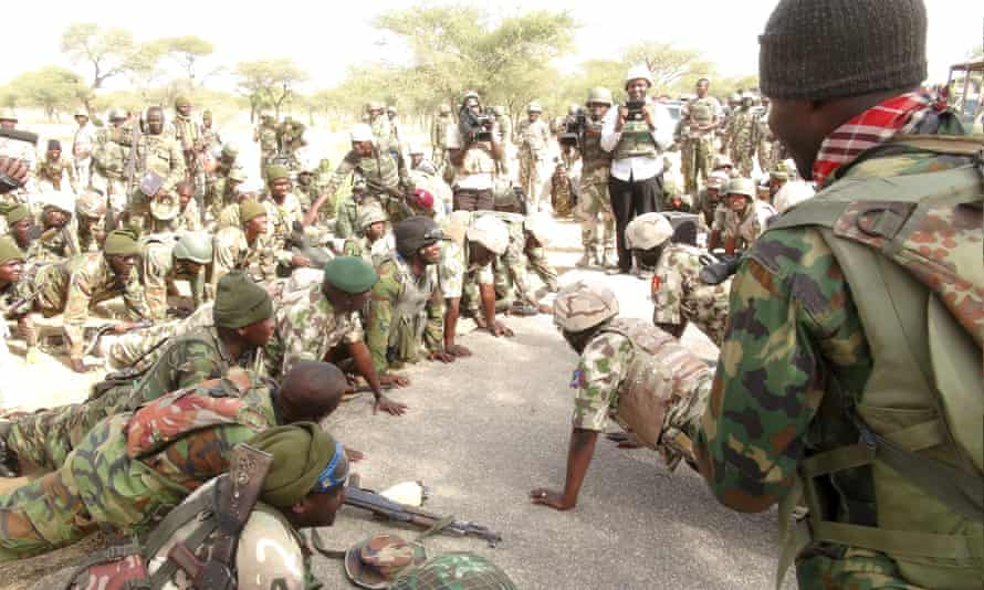 Buhari Giving AK47 To Soldiers In Abuja, Gives Old Weapons To Soldiers Facing Terrorists – Ndume