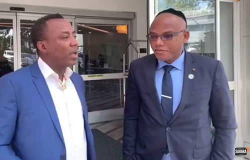 Nnamdi Kanu Was Blindfolded, Handcuffed and Chained, I Fear For His Safety — Sowore