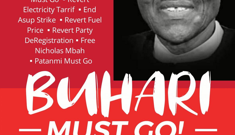 #June12Protest: #BuhariMustGo