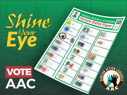 Vote AAC Ballot